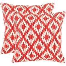 Midnight Desert Pillow - Red