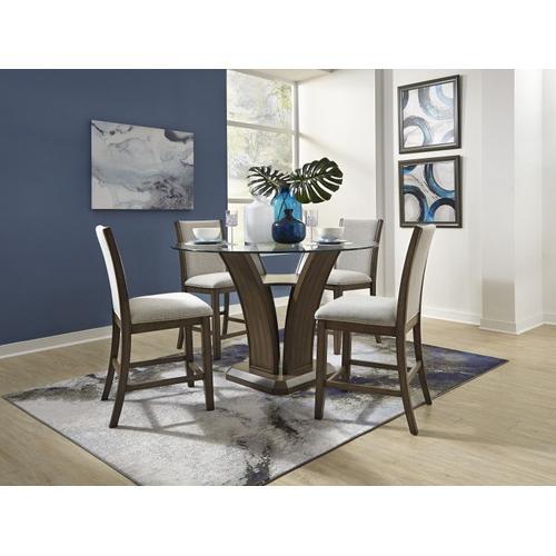 Standard Furniture - Zayden 2-Pack Counter Height Barstool, Brown