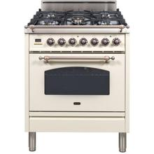 "30"" Inch Antique White Natural Gas Freestanding Range"