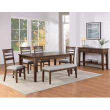 View Product - Ora 5-Piece Dining Set (Table & 4 Side Chairs)