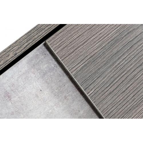 Nova Domus Palermo - Italian Modern Faux Concrete & Grey Chest