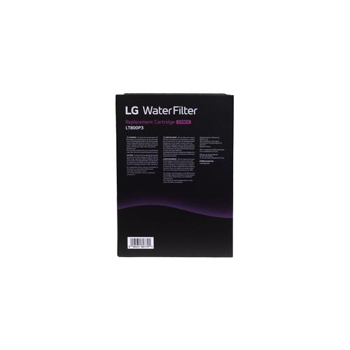 LG - LG LT800P3 - 6 Month / 200 Gallon Capacity Replacement Refrigerator Water Filter 3-Pack (NSF42 and NSF53*)