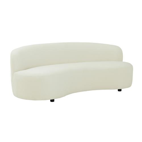 Tov Furniture - Cannellini Cream Velvet Sofa