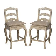 See Details - FRENCH PROVENCAL COUNTER STOOL