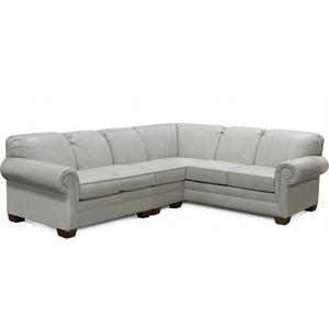 England Furniture1430LSR-SECT Monroe Leather Sectional