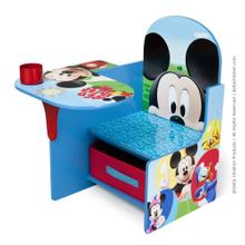 Mickey Mouse Chair Desk with Storage Bin