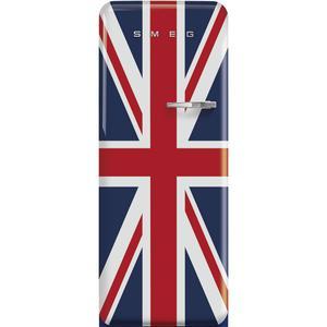 """Smeg24"""" retro-style fridge, Union Jack, Left-hand hinge"""