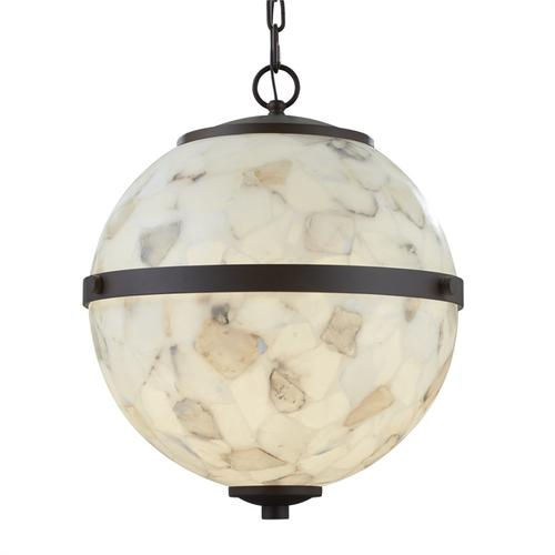 """Imperial 25"""" Hanging Globe"""