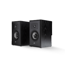 THE LITTLE BIG BOOKSHELF SPEAKERS (PAIR) in Black Ash