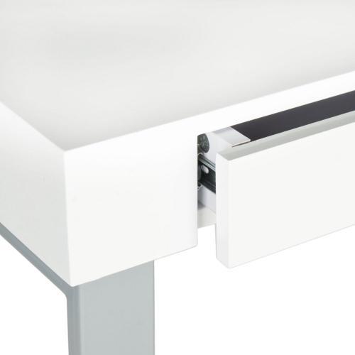 Barton Desk - White / Grey