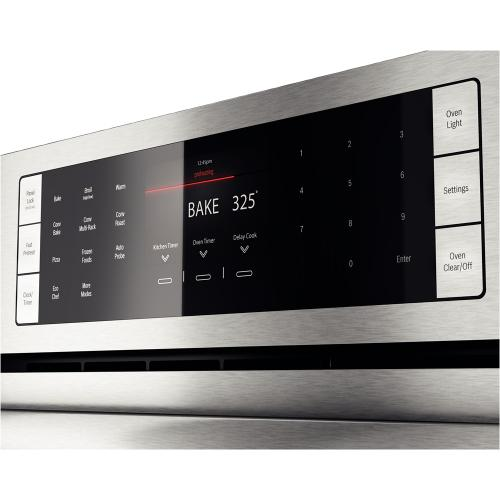 """Bosch - 30"""" Single Wall Oven Benchmark Series - Stainless Steel"""