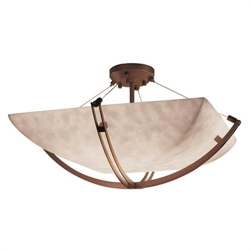 "48"" Semi-Flush Bowl w/ Crossbar"