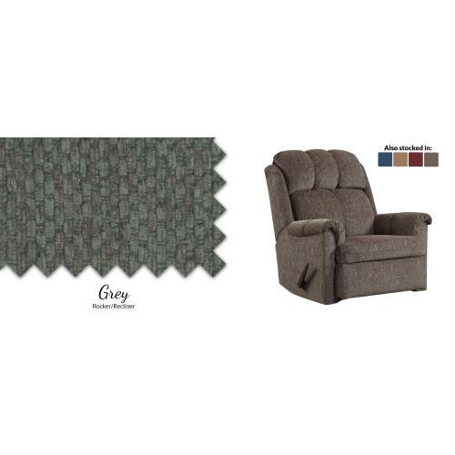 Gallery - Grey Rocker/Recliner