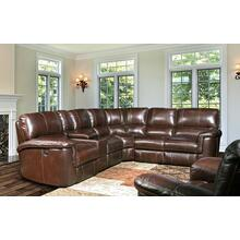 Alfred Cigar 6pc Sectional