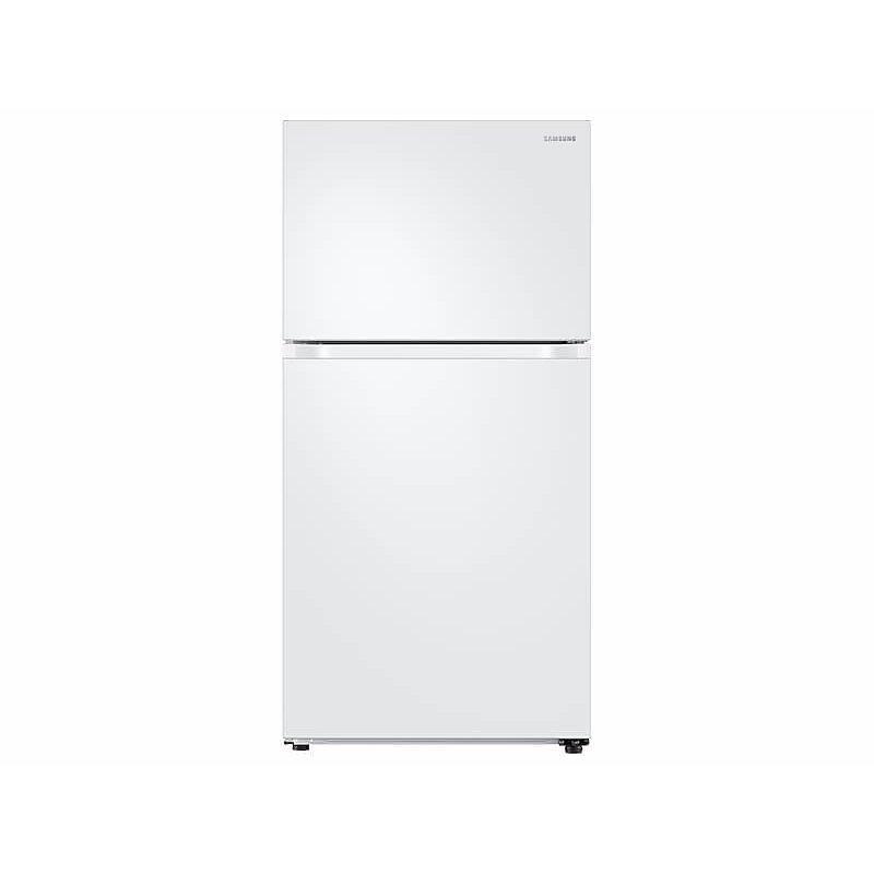 Samsung 21 cu. ft. Top Freezer Refrigerator with FlexZone™ in White