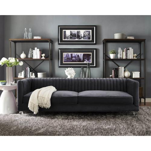 Tov Furniture - Aviator Grey Velvet Sofa