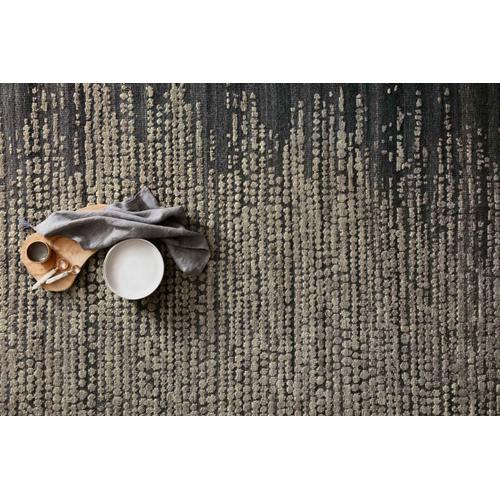 NAO-02 Charcoal / Stone Rug