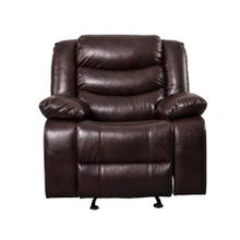 See Details - 8055 BROWN Air Leather Recliner