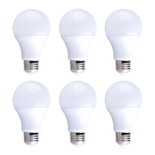 purePower A19 LED Bulb - 6 pack