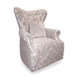 Blair Fawn Skirted Chair