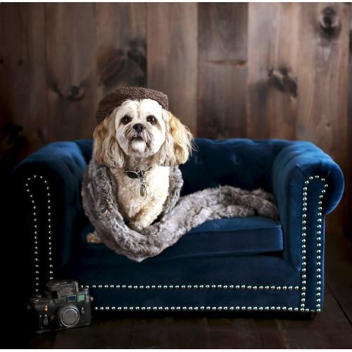 Tov Furniture - Husky Navy Pet Bed