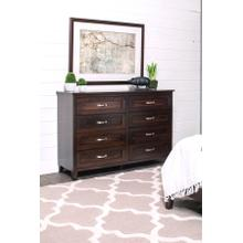 "SYO Inset 8-Drawer Dresser, 60 1/2""w"