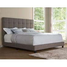 Brooklyn King Bed, Nickel