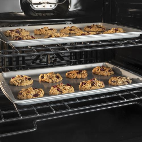 """GE 30"""" Built-In Convection Single Wall Oven Black Slate - JTS5000FNDS"""
