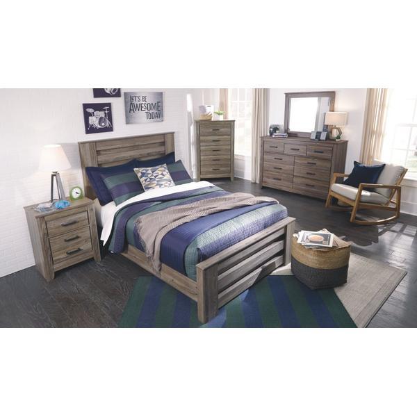 Zelen Full Panel Bed