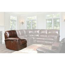Alfred Cigar Power Left Arm Facing Recliner