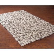 Natural Felted Yarn Handmade Rug