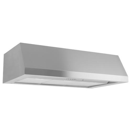 "GE Appliances - 30"" Designer Wall Mount Hood w/ Dimmable LED Lighting"