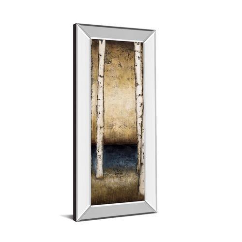 "Classy Art - ""Birch Landing Il"" By St Germain Mirror Framed Print Wall Art"