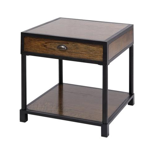 Gallery - Pendleton Side Table In Antique Brown