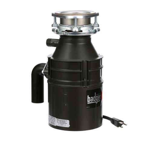 Badger 500 Garbage Disposal, 1/2 HP
