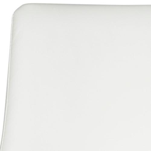 Summerset Counter Stool - White / Chrome
