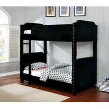 7605 Upholstered Bunk Bed