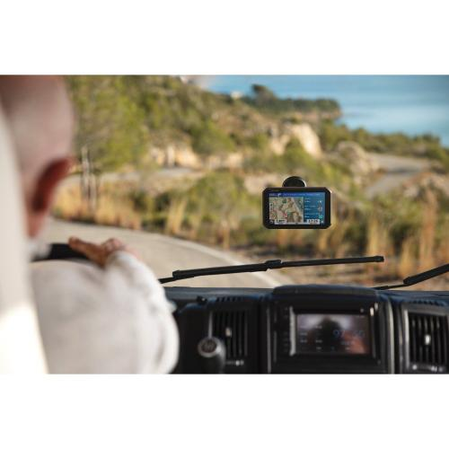 Petra - RV 785 7-Inch GPS Navigator with Bluetooth®, Lifetime Traffic Alerts and Map Updates, and Built-in Dash Cam