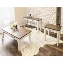 Bear Creek 3-Piece Occasional Set(Cocktail & 2 End Tables)