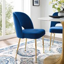 Rouse Dining Room Side Chair in Navy