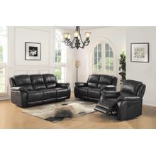 See Details - 8028 Black Manual Reclining Chair