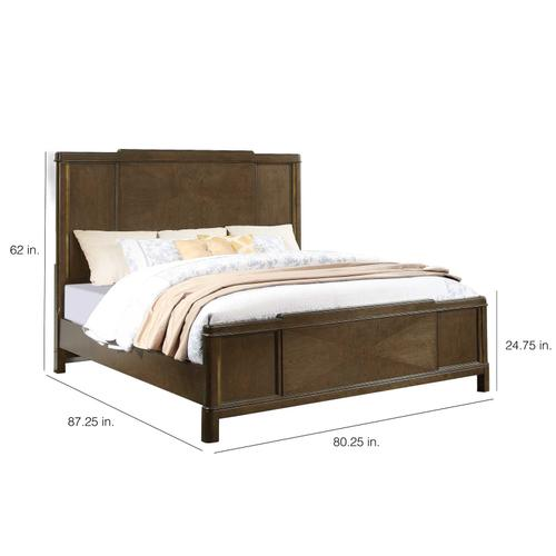 Milan King Bed