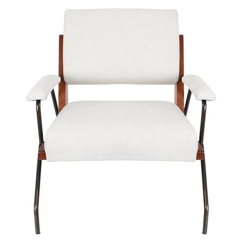Smith KD Fabric Accent Arm Chair, Cardiff Cream
