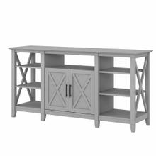 See Details - Tall TV Stand for 65 Inch TV, Cape Cod Gray