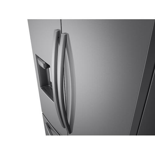Gallery - 28 cu. ft. 3-Door French Door Refrigerator with AutoFill Water Pitcher in Stainless Steel