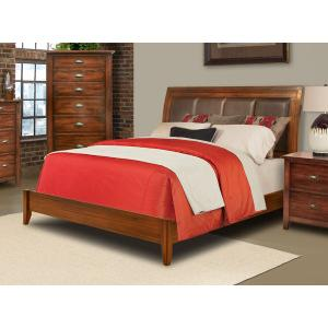 E King Low Profile Bed