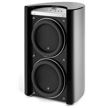 See Details - Dual 13.5-inch (345 mm) Powered Subwoofer, Black Gloss Finish