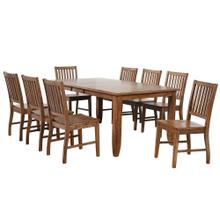 See Details - Extendable Table Dining Set - Amish (9 Pieces)