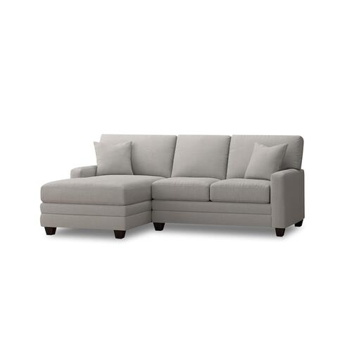 Bassett Furniture - Premium Collection - Carolina Thin Track Arm Left Chaise Sectional