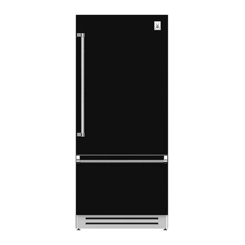 """36"""" Bottom Mount, Bottom Compressor Refrigerator - KRB Series - Stealth"""